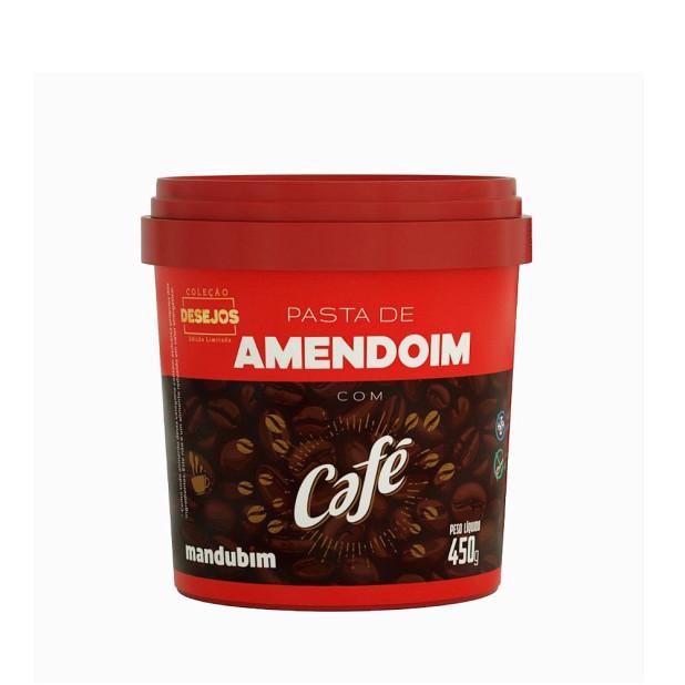Pasta de Amendoim Café - Mandubim 450g