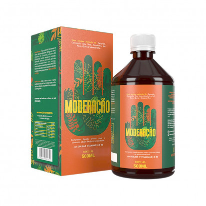 Detox Moderação Bebida Detox 100% Natural