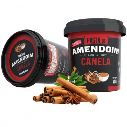 Pasta de Amendoim com Canela - Mandubim 450g