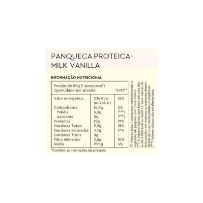 Panqueca Proteica Milk Vanilla Low Carb My Dream 350g
