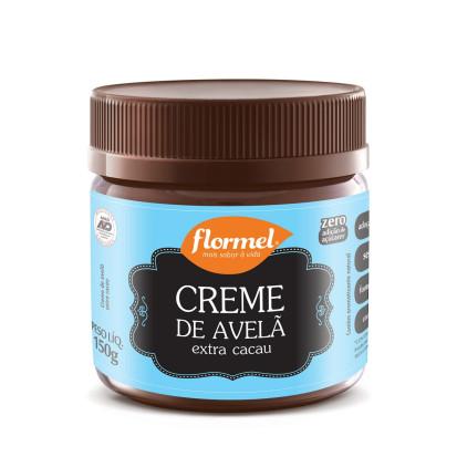 Kit com 3 Cremes De Avelã Zero Açúcar Flormel