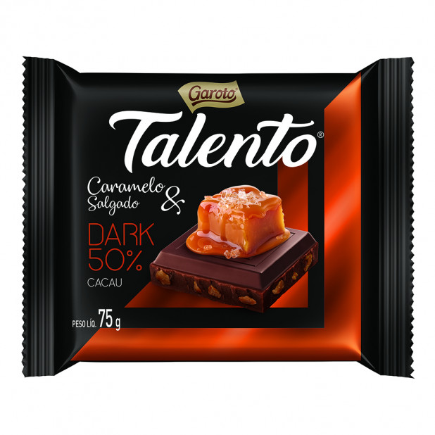 Chocolate Garoto Talento Sabor...