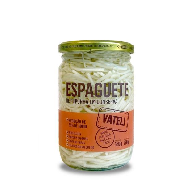 Espaguete de Palmito Pupunha em...