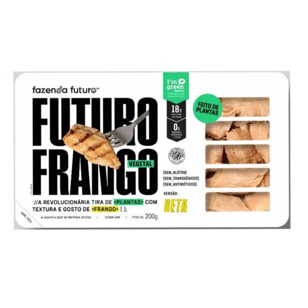 Tiras de Frango Vegetal - Fazenda...