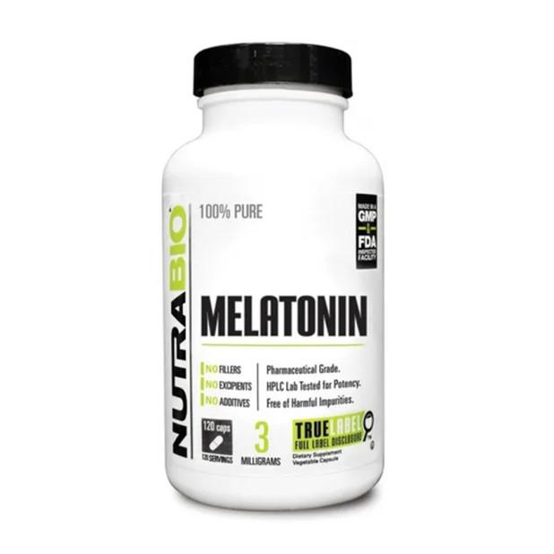 Melatonina Importada 3mg 120 Cáps. -...