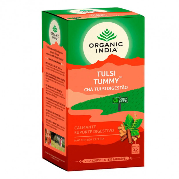Chá Tulsi Digestão Organic India 25...