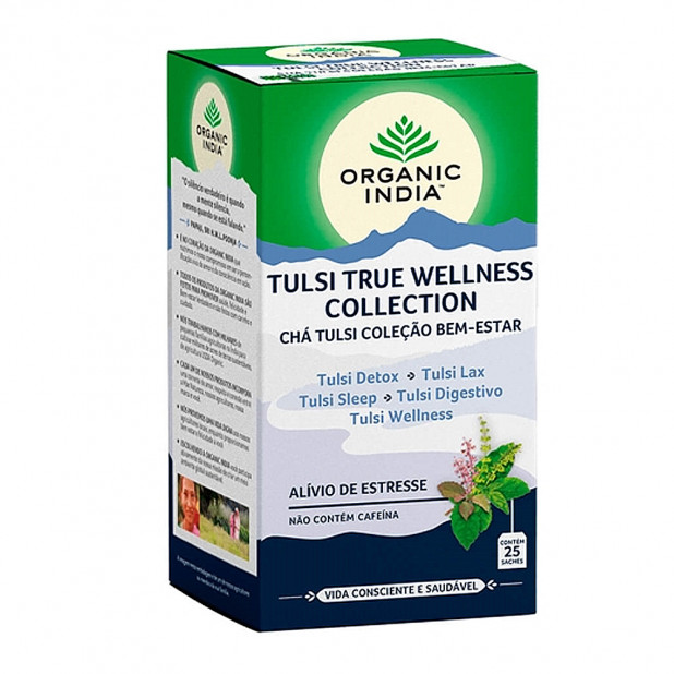 Chá Tulsi Wellness Collection Organic...