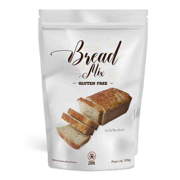 Bread Mix Mistura Para Pão Sem Glúten...