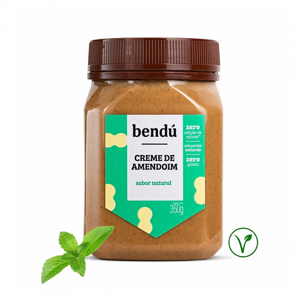 Creme De Amendoim Sabor Natural...