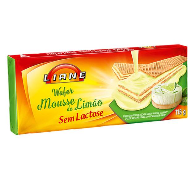 Wafer Sabor Mousse De Limão Sem...