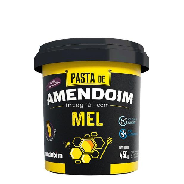 Pasta de Amendoim com Mel - Mandubim 450g