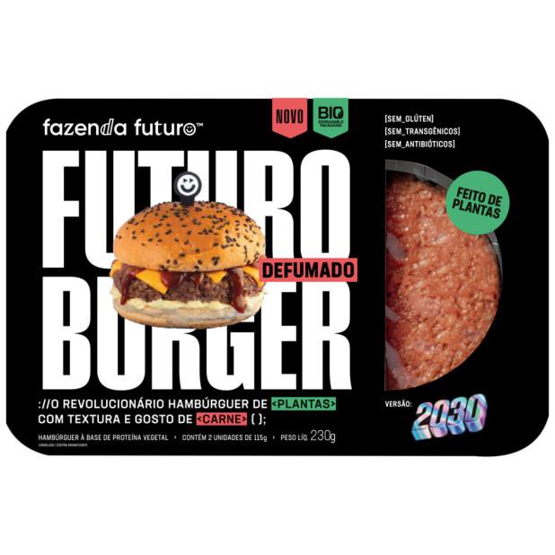 Hambúrguer De Proteína Vegetal...