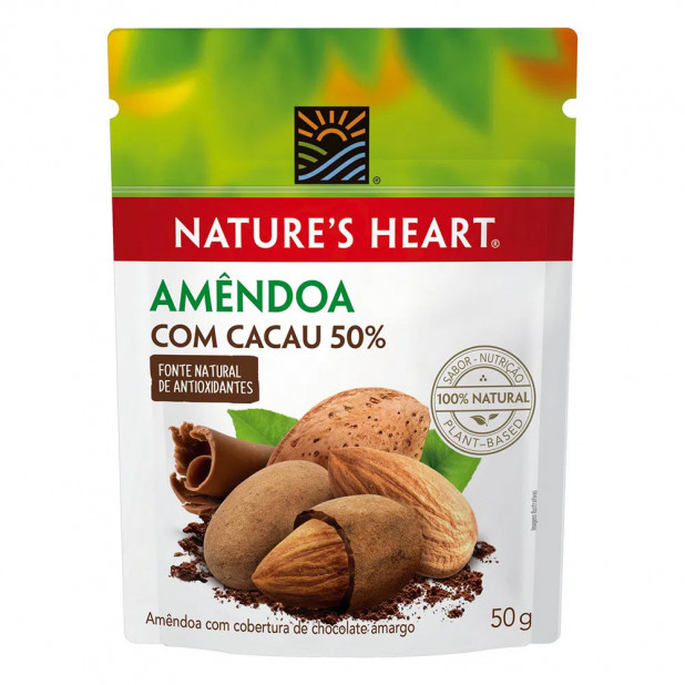 Snack Amêndoa Com Cacau 50% Nature's...
