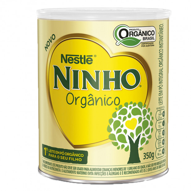 Leite Ninho Orgânico Instantâneo -...