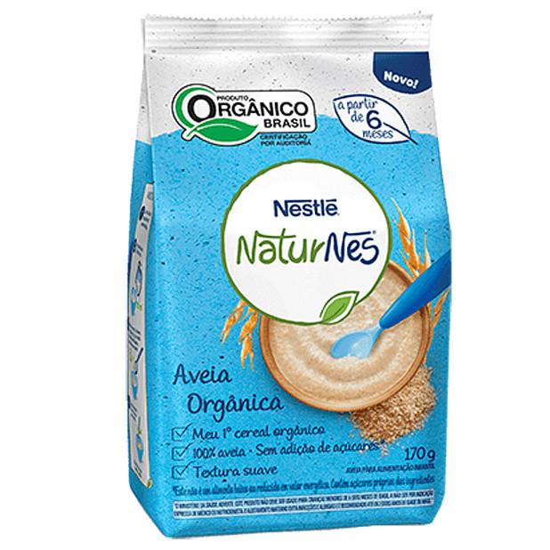 Aveia Orgânica Naturnes - Nestlé 170g