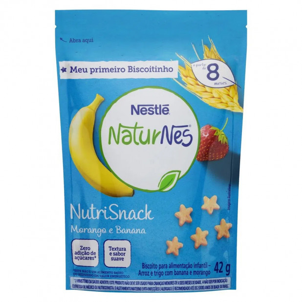 Biscoito NaturNes NutriSnack Sabor...